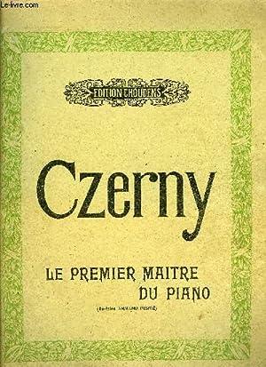 LE PREMIER MAITRE DU PIANO: CZERNY