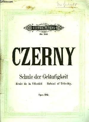 ECOLE DE LA VELOCITE: CZERNY