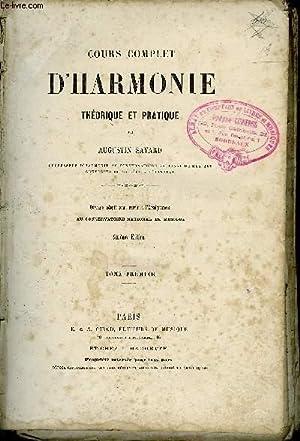 COURS COMPLET D'HARMONIE: SAVARD Augustin