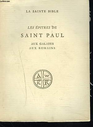 LES EPITRES DE SAINT PAUL AUX GALATES,: S. LYONNET, S.J.(TRADUIT