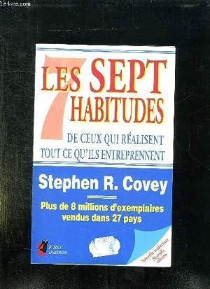 LES SEPT HABITUDES DE CEUX QUI REALISENT: COVEY STEPHEN R.
