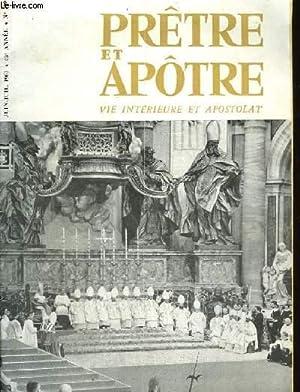 PRETRE ET APOTRE VIE INTERIEURE ET APOSTOLAT - N°500: COLLECTIF