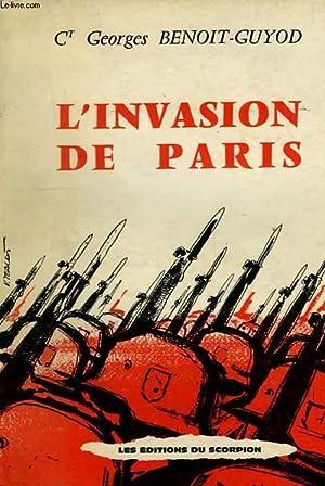 L'INVASION DE PARIS (1940-1944), CHOSES VUES SOUS L'OCCUPATION: BENOIT-GUYOD Ct GEORGES