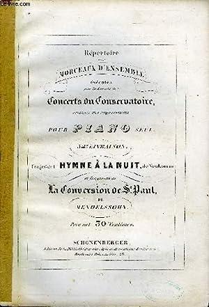 FRAGMENT DE L'HYMNE A LA NUIT /: NEUKOMM / MENDELSSOHN