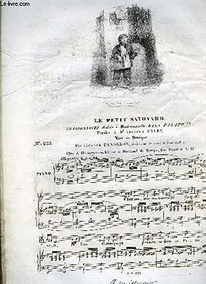 LE PETIT SAVOYARD: PANSERON Auguste / FAVRE Adolphe