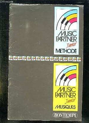 MUSIC PARTNER JUNIOR METHODE.: COLLECTIF.