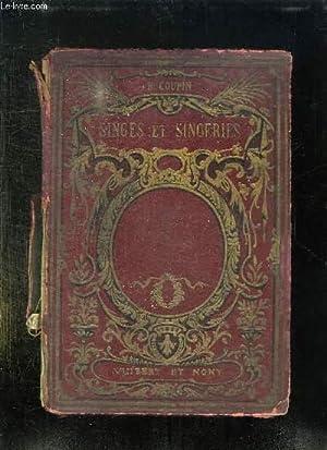 SINGES ET SINGERIES. HISTOIRE ANECDOTIQUE DES SINGES.: COUPIN HENRI.