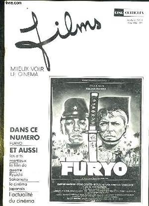 FILMS N° 14 MAI 1983. SOMMAIRE: FURYO, LES ARTS MARTIAUX, LE FILM DE GUERRE, LE CINEMA ...