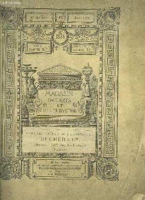 MAGASIN DES ARTS ET DES INDUSTRIE - SIXIEME ANNEE N° 1: COLLECTIF