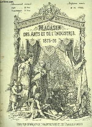 MAGASIN DES ARTS ET DES INDUSTRIE - SEPTIEME ANNEE N° 10: COLLECTIF