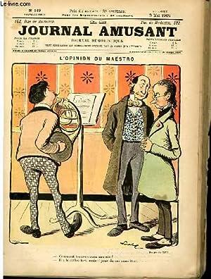 Le journal amusant - nouvelle série N°149. L'opignon de maëstro: LUC