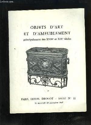 Catalogue de la Vente aux Enchères, du: Me PICARD Jean-Louis
