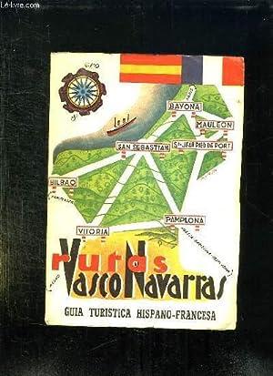 RUTAS VASCO NAVARRAS 1960. TEXTE EN ESPAGNOL ET EN FRANCAIS.: PAU RICO JOSE ANDRES.