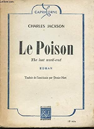 LE POISON - THE LOST WEEK END.: JACKSON CHARLES