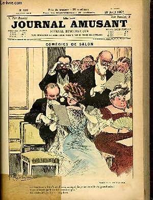 Le journal amusant - nouvelle série N°408. Comédies de salon: GUILLAUME A.