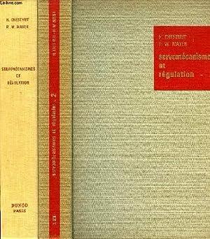 SERVOMECANISMES ET REGULATION, 2 TOMES: CHESTNUT H., MAYER R.-W.