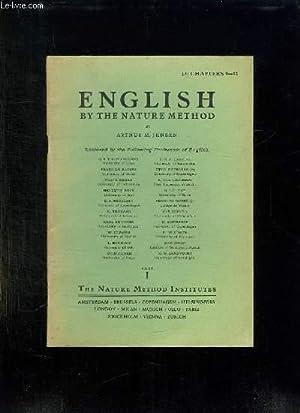 ENGLISH BY NATURE METHOD. CHAPTER 9 -: JENSEN ARTHUR M.