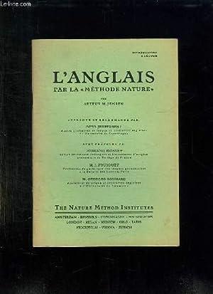 L ANGLAIS PAR LA METHODE NATURE. INTRODUCTION: JENSEN ARTHUR M.