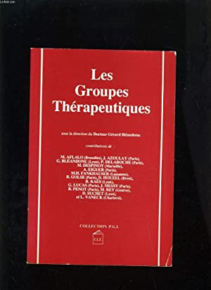 LES GROUPES THERAPEUTIQUES: COLLECTIF