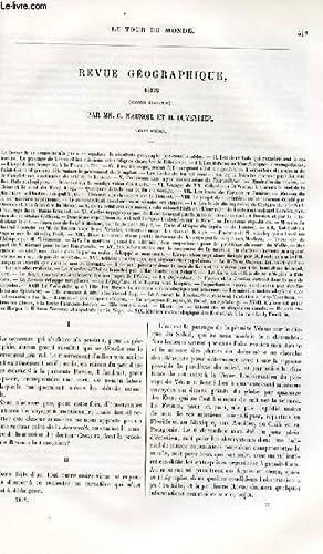Le tour du monde - nouveau journal des voyages - Revue géographique 1882 - second semestre ...