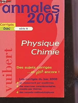 ANNALES 2001 / PHYSIQUE CHIMIE - N°27: LESPINASSE E. /