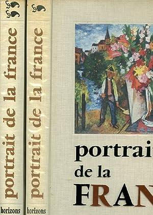 PORTRAIT DE LA FRANCE. 2 TOMES: COLLECTIF