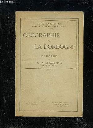 GEOGRAPHIE DE LA DORDOGNE: GRELIERE P.