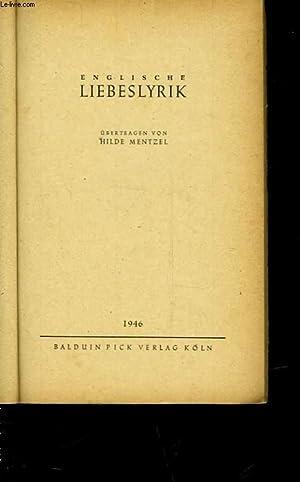 ENGLISCHE LIEBESLYRIK: MENTZEL HILDE
