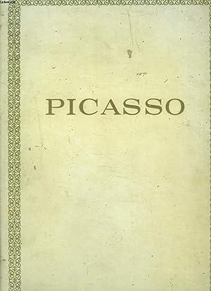 PICASSO. PREMIERE EPOQUE 1881-1906. PERIODES BLEUE ET ROSE.: GEORGES BOUDAILLE