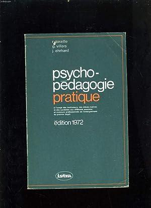 PSYCHO-PEDAGOGIE PRATIQUE: R. TORAILLE -