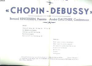 DAX ATRIUM-CASINO. SAISON 1960-1961. PROGRAMME. LES JEUNESSES MUSICALES DE FRANCE. DELEGATION DE ...