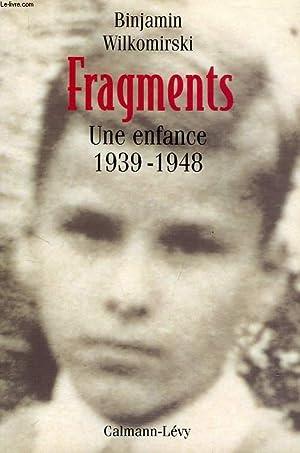 FRAGMENTS, UNE ENFANCE, 1939-1948: WILKOMIRSKI BINJAMIN