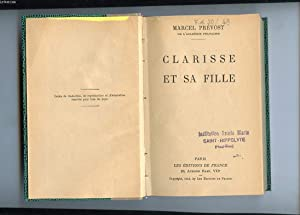 CLARISSE ET SA FILLE: PREVOST MARCEL