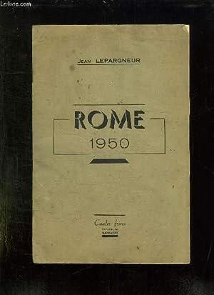 ROME 1950.: LEPARGNEUR JEAN.