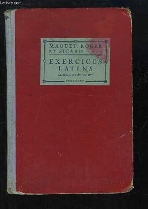 Exercices Latins. Classes de 6ème et de: MAQUET Ch., SICARD