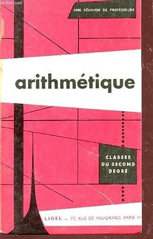 ARITHMETIQUE - CLASSES DU SECOND DEGRE - N°192 E.: REUNION DE PROFESSEURS