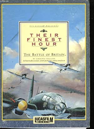 THEIR FINEST HOUR - THE BATTLE OF BRITAIN: HOLLAND LAWRENCE