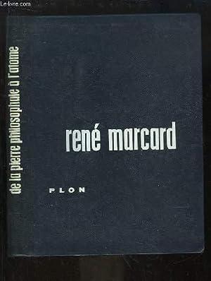 De la pierre philosophale à l'atome: MARCARD René