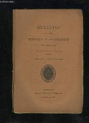 BULLETIN DE LA SOCIETE HISTORIQUE ET ARCHEOLOGIQUE DU PERIGORD - TOME LVII - LIVRAISON N° 1 - ...