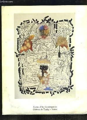 Jean-Paul Riopelle / Sam Szafran. Exposition du: CENTRE D'ART CONTEMPORAIN,
