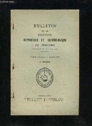 BULLETIN DE LA SOCIETE HISTORIQUE ET ARCHEOLOGIQUE: COLLECTIF