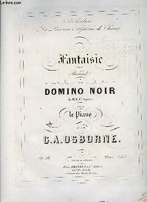 FANTAISIE SUR LE DOMINO NOIR: OSBORNE G.A.