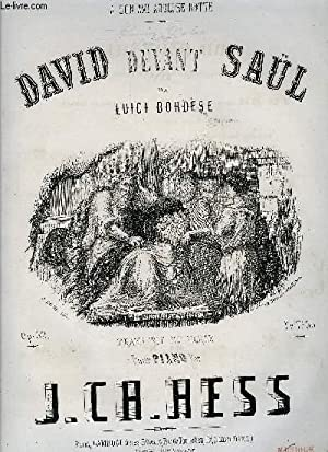 DAVID DEVANT SAUL: HESS J.C.H.