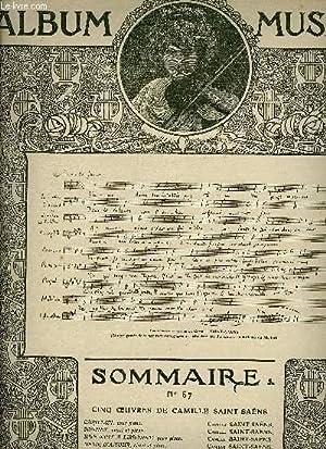 ALBUM MUSICA N°57 - CARILLON + SONNET + UNE NUIT A LISBONNE + DESIR D'AMOUR + MEDITATION +...