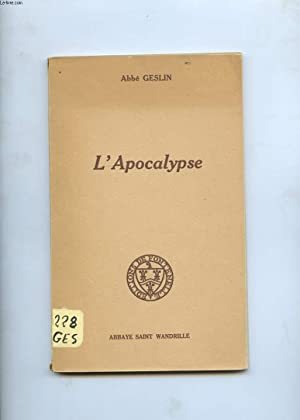 L'APOCALYPSE.: ABBE GESLIN