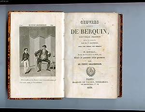 OEUVRES COMPLETES DE BERQUIN TOME 8. LE PETIT GRANDISSON. NOUVELLE EDITION REVUE ET CORRIGEE PAR M....