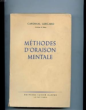 METHODES D'ORAISON MENTALE: CARDINAL LERCARO