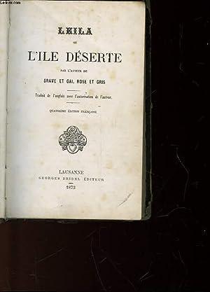LEILA - OU L'ILE DESERTE: NON PRECISE