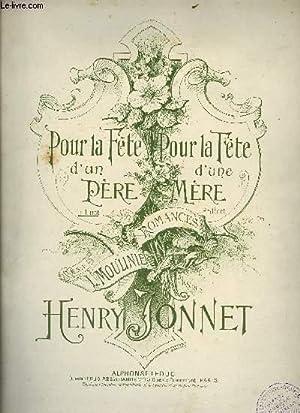 POUR LA FETE D'UN PERE: JONNET Henry /