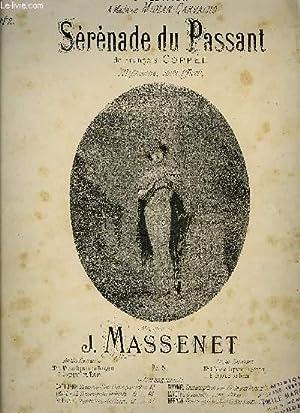 SERENADE DU PASSANT: MASSENET J.